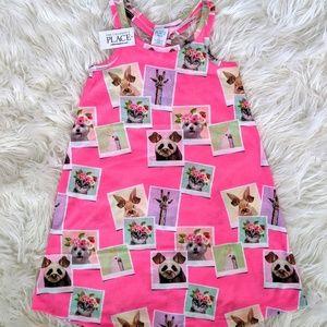 NWT XS Animal Selfie Dress